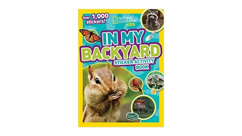 'National Geographic Kids in My Backyard Sticker Activity Book'