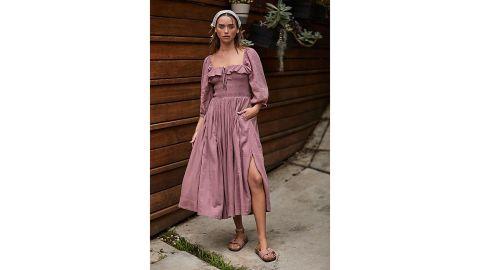 Free People Oasis Midi Dress