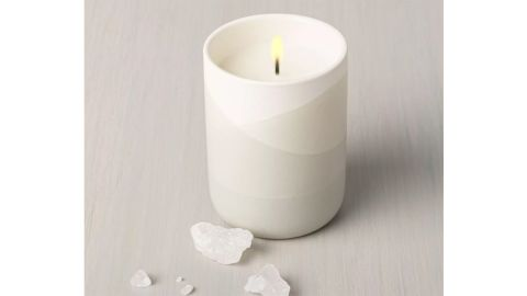 Hearth & Hand with Magnolia Salt Dipped Ceramic Candle