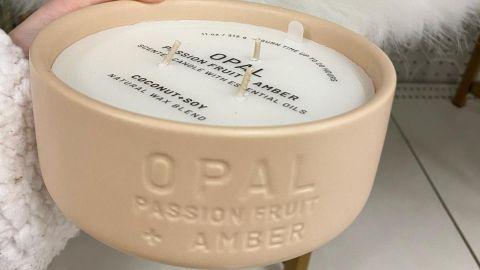 Project 62 Ceramic Jar 3-Wick Opal Candle