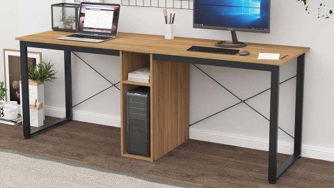 Sogesfurniture Large Double Workstation Desk