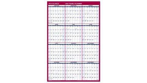2022 Erasable Calendar