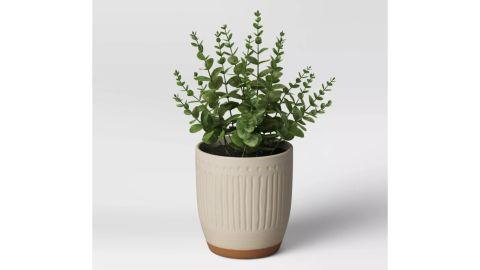 Textured Ceramic Planter
