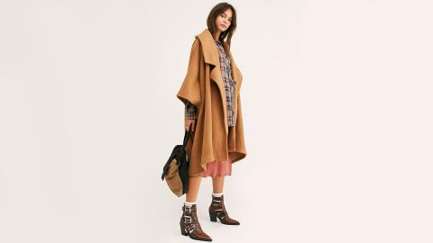 Free People Off Duty Oversized Poncho