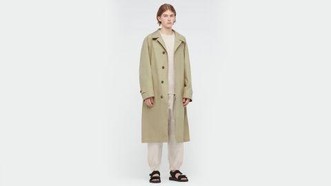 Uniqlo U Single-Breasted Trench Coat