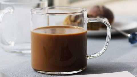 Luxu Glass Coffee Mugs, Set of 4