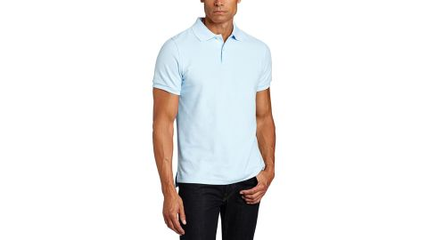 Lee Uniforms Modern Fit Short-Sleeve Polo