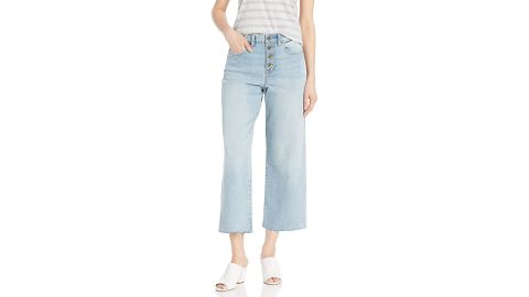 Daily Ritual Relaxed Fit Wide Leg Crop Jean