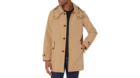 Tommy Hifiger Hooded Rain Trench Jacket