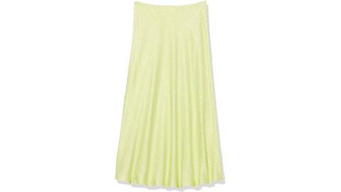 Astr The Label Embroidered Nava Midi Slip Skirt