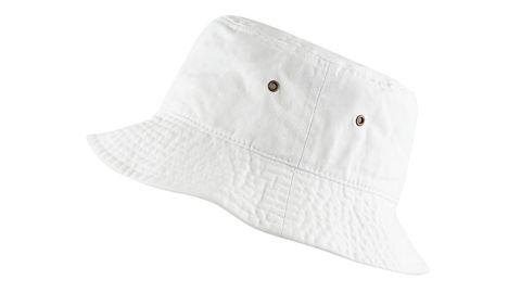 The Hat Depot 100% Cotton Packable Bucket Hat