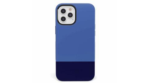 Blue & Navy Colorblock Case