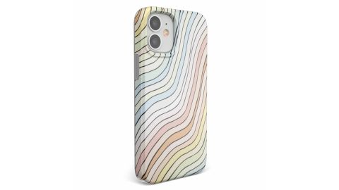Ride the Wave Pastel Rainbow Lined Case