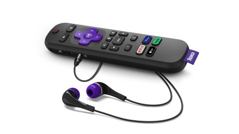 Roku's Voice Remote Pro features an additional microphone for hands-free functionality.