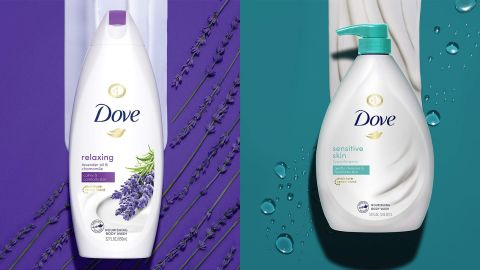 Dove Body Wash and Hair Care