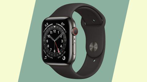 Apple Watch Series 6, GPS + Cellular, 44 Millimeters