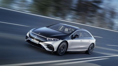 The new all-electric Mercedes-EQS