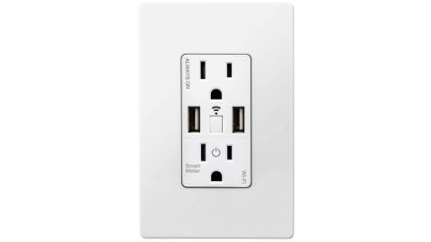 Topgreener Smart Dual USB Charging Outlet