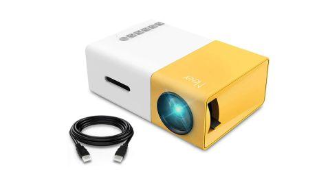 Meer Portable Pico Full-Colour LED LCD Mini Projector
