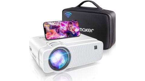 Bomaker Portable Wi-Fi Mini Projector