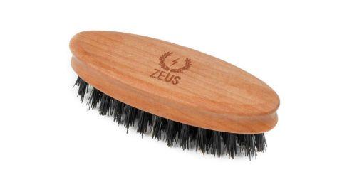 Zeus 100% Boar Bristle Beard Brush