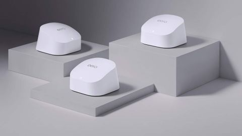 Eero 6 Mesh Wi-Fi System and Two Extenders