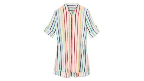 The Short Effortless Shirtdress Cover-Up