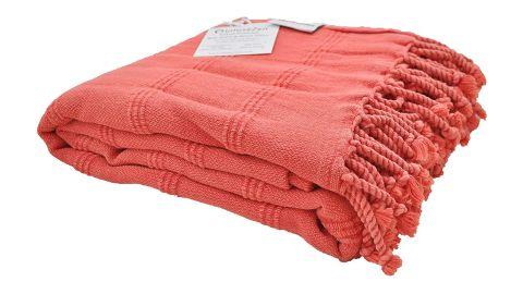 InfuseZen Stonewashed Turkish Towel