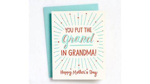 Grand in Grandma Card