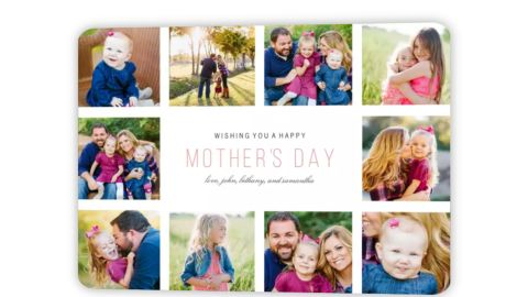 Mother's Day Collage Card