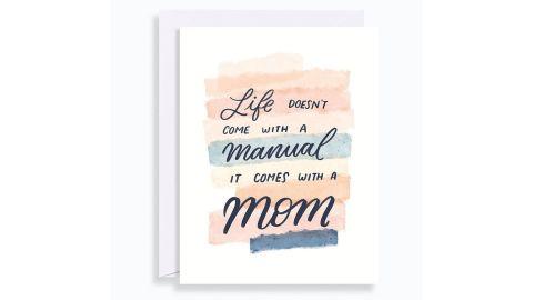 Life Manual Card