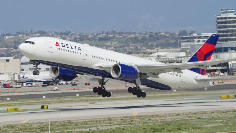 Use miles you earn with the Delta SkyMiles Platinum card to fly on Delta flights.