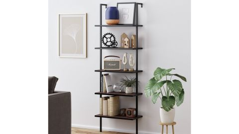 Orren Ellis Zachary Steel Ladder Bookcase