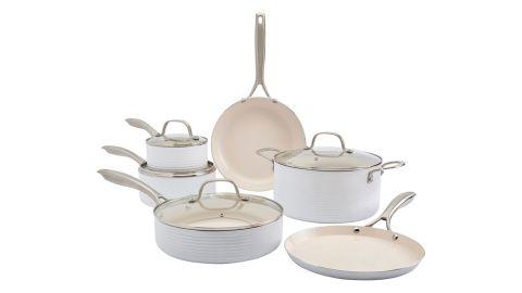 Denmark 10-Piece Aluminum Nonstick Cookware Set