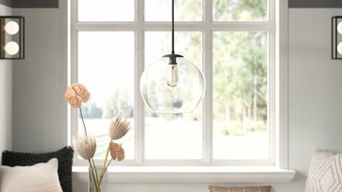 Snead Single Globe Pendant Light