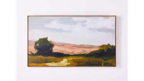 "Threshold ""On Sunset Mesa"" Medium Wood Framed Wall Canvas"