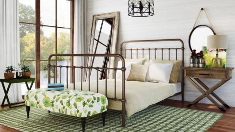 Kelly Clarkson Home Page Standard Bed