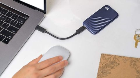 WD My Passport 1TB External USB Portable Solid-State Drive
