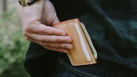 Tanner Goods Journeyman Front Slim 4-Card Slot Wallet