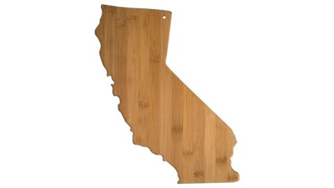 Totally Bamboo State-Shaped Cutting Board