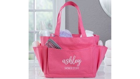 Embroidered Shower Caddy