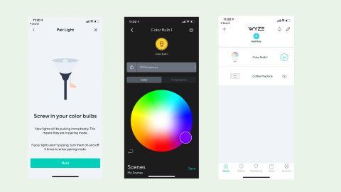 Wyze smart bulb app