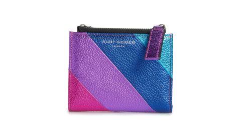 Kurt Geiger London Rainbow Shop Stripe Leather Wallet
