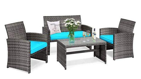 Goplus Rattan Furniture Set