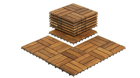 Bare Decor Interlocking Flooring Tiles