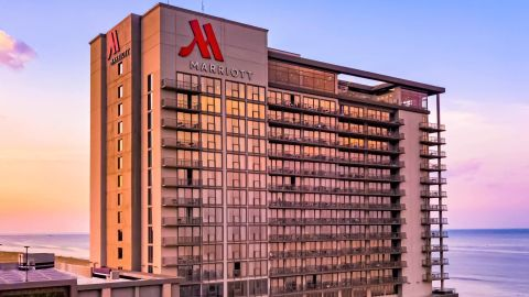 Use your points from the Marriott Boundless card at properties like the Marriott Virginia Beach Oceanfront.
