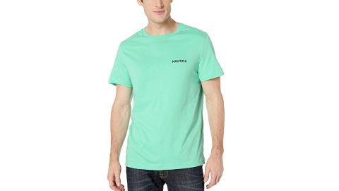 Nautica Men's Short-Sleeve Solid Crewneck T-Shirt