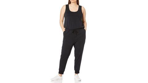 Amazon Essentials Women's Standard Studio Terry Fleece Jumpsuit