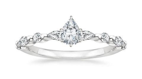 Versailles Diamond Engagement Ring