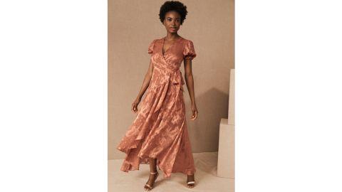 Biscayne Ruffle Wrap Dress